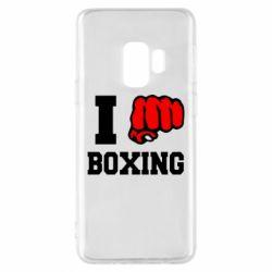 Чехол для Samsung S9 I love boxing