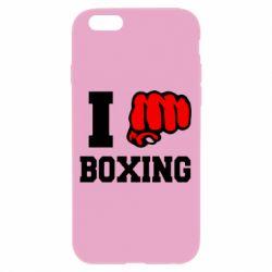 Чехол для iPhone 6/6S I love boxing