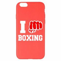 Чехол для iPhone 6 Plus/6S Plus I love boxing