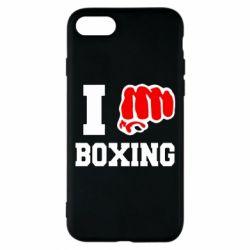 Чехол для iPhone 7 I love boxing