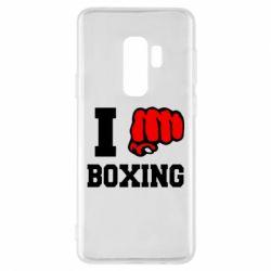 Чехол для Samsung S9+ I love boxing