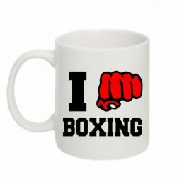Кружка 320ml I love boxing