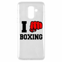 Чехол для Samsung A6+ 2018 I love boxing