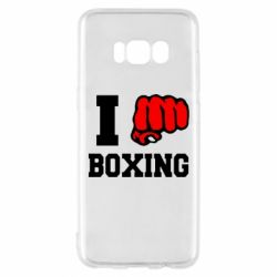 Чехол для Samsung S8 I love boxing