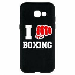 Чехол для Samsung A5 2017 I love boxing