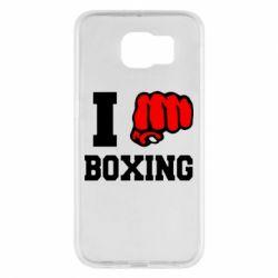 Чехол для Samsung S6 I love boxing
