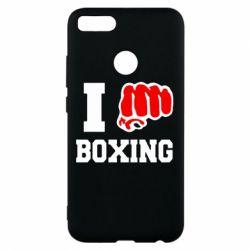 Чехол для Xiaomi Mi A1 I love boxing