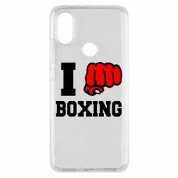 Чехол для Xiaomi Mi A2 I love boxing