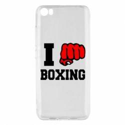 Чехол для Xiaomi Mi5/Mi5 Pro I love boxing
