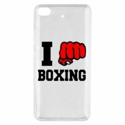Чехол для Xiaomi Mi 5s I love boxing