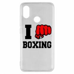 Чехол для Xiaomi Mi8 I love boxing