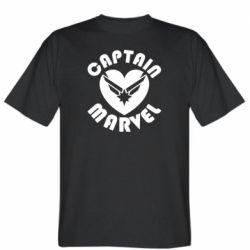 Чоловіча футболка I love Captain Marvel