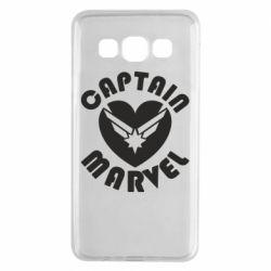 Чохол для Samsung A3 2015 I love Captain Marvel