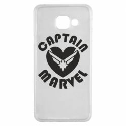 Чохол для Samsung A3 2016 I love Captain Marvel
