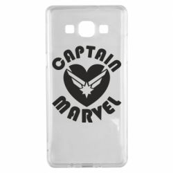 Чохол для Samsung A5 2015 I love Captain Marvel