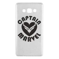 Чохол для Samsung A7 2015 I love Captain Marvel