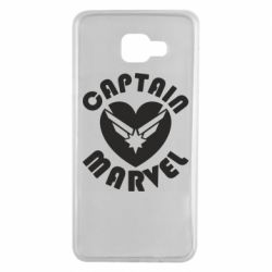 Чохол для Samsung A7 2016 I love Captain Marvel