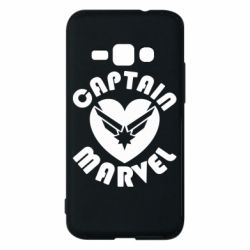 Чохол для Samsung J1 2016 I love Captain Marvel