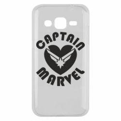 Чохол для Samsung J2 2015 I love Captain Marvel