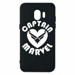 Чохол для Samsung J2 2018 I love Captain Marvel