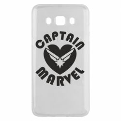 Чохол для Samsung J5 2016 I love Captain Marvel
