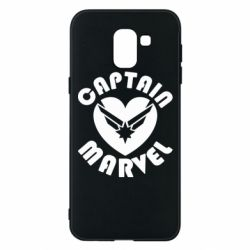 Чохол для Samsung J6 I love Captain Marvel