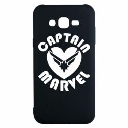 Чохол для Samsung J7 2015 I love Captain Marvel