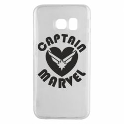 Чохол для Samsung S6 EDGE I love Captain Marvel