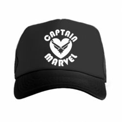 Кепка-тракер I love Captain Marvel