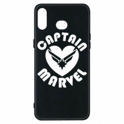 Чохол для Samsung A6s I love Captain Marvel