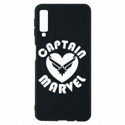 Чохол для Samsung A7 2018 I love Captain Marvel