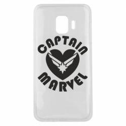 Чохол для Samsung J2 Core I love Captain Marvel