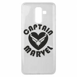 Чохол для Samsung J8 2018 I love Captain Marvel