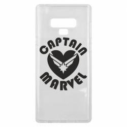Чохол для Samsung Note 9 I love Captain Marvel