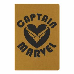 Блокнот А5 I love Captain Marvel