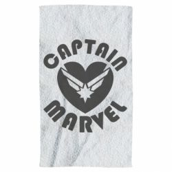 Рушник I love Captain Marvel