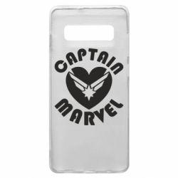 Чохол для Samsung S10+ I love Captain Marvel
