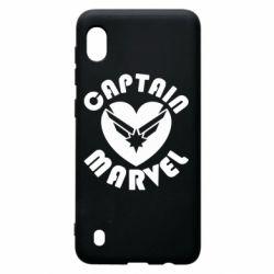 Чохол для Samsung A10 I love Captain Marvel