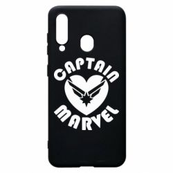 Чохол для Samsung A60 I love Captain Marvel