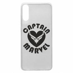 Чохол для Samsung A70 I love Captain Marvel