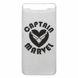 Чохол для Samsung A80 I love Captain Marvel