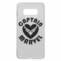 Чохол для Samsung S10e I love Captain Marvel