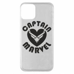 Чохол для iPhone 11 I love Captain Marvel