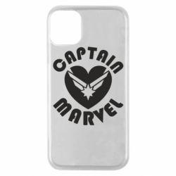 Чохол для iPhone 11 Pro I love Captain Marvel