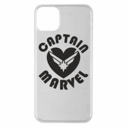 Чохол для iPhone 11 Pro Max I love Captain Marvel