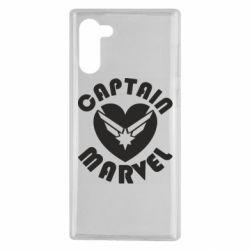 Чохол для Samsung Note 10 I love Captain Marvel