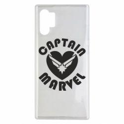 Чохол для Samsung Note 10 Plus I love Captain Marvel