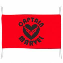 Прапор I love Captain Marvel