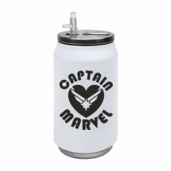 Термобанка 350ml I love Captain Marvel
