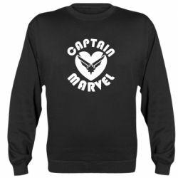 Реглан (світшот) I love Captain Marvel